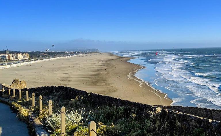 Ocean Beach San Francisco E-Bike Tour