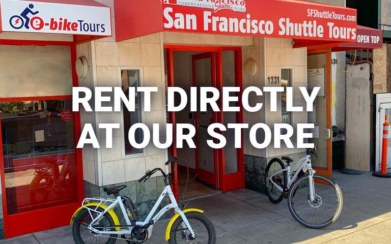 San Francisco E-Bike Rental Store